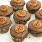 Salted Caramel Turtle Cupcakes