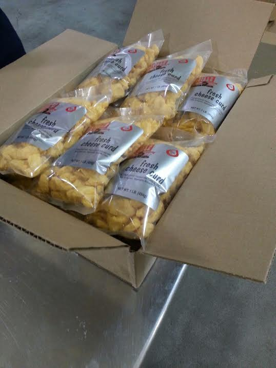 boxed cheese curds