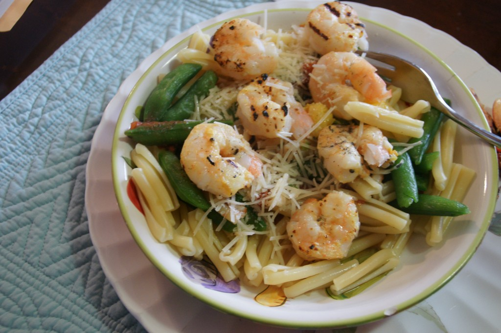 Penne Pasta and Shrimp