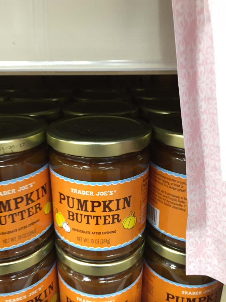 Trader Joes doesn't have the corner market on pumpkin butter. It can be made at home and has an even better flavor.