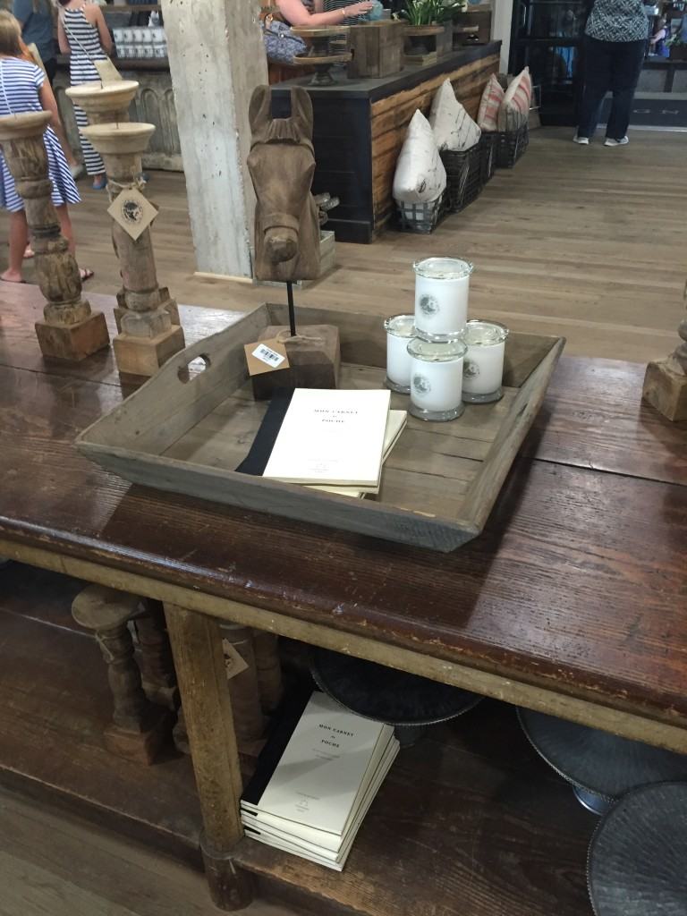 """The store was fun for """"ideas"""" and treasures. Many of the sales people were students from Baylor University who reflected a wonderful Christian countenance."""