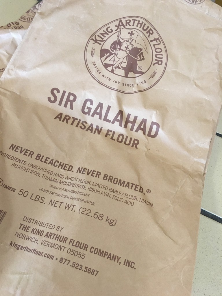 Premier bakeries use this commercial flour labled Sir Galahand which is the same as  King Arthur flour labeld as unbleached, all purpose flour.